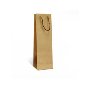 Natural Kraft Wine Bottle Gift Bags