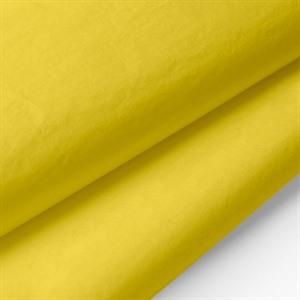 Papier de soie jaune sans acide par Wrapture (finition machine)